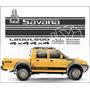 Kit Adesivos Mitsubishi L200 Savana Dakar- Imprimax - Decalx
