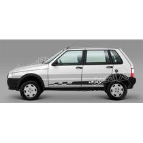 Kit Faixas Adesivos Fiat Uno Way Imp240 - Imprimax - Decalx