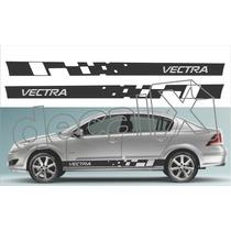 Kit Faixas Adesivos Chevrolet Vectra Vt102 - 3m - Decalx