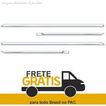 Friso Lateral Fox 2011 Cromado - 4portas - Flash