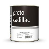 Tinta Automotiva Sintético Preto Cadillac 3,6l Metal Madeira