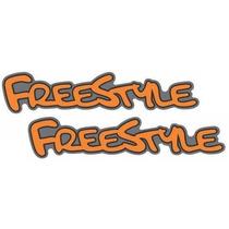 Emblema Adesivo Freestyle Ford Ecosport - Preço Do Par!