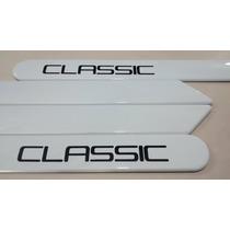 Friso Lateral Chevrolet Corsa Classic Branco Summit Original