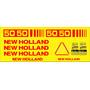 Kit Adesivos New Holland 5050 - Decalx