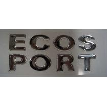 Emblema Ecosport Resinado Universal Varios Modelos