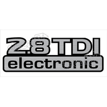 Adesivo 2.8 Tdi Electronic Nissan Frontier Off Road - Decalx