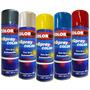 Tinta Spray Automotivo Colorgin Preto Brilhante