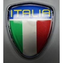 Emblema Italia Fiat500 Punto Linea Lateral + Brinde