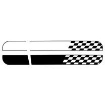 Faixa Decorativa Novo Uno Podium (capo E Teto) Branco /preto