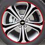 Jogo Adesivos Rodas Fibra Carbono Chevrolet Cruze