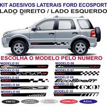 Adesivo Ecosport Freestyle Kit Faixa Lateral