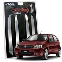 _friso Para-choque Cromado Chevrolet Corsa 97 98 99 Jg 4pçs