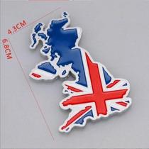 Adesivo Tunning 3d Inglaterra - Union Jack - Liga De Metal