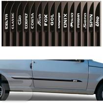 Friso Lateral Personalizado Fiat Uno Mille 2 Portas Tg Poli
