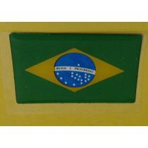 Bandeiras Adesivas Resinadas Brasil - Japão Mmf Auto Parts