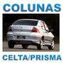 Colunas Backout Celta Prisma Geração1 4portas + Frete Grátis