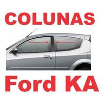 Colunas Preto Fosco Blackout Ford Ka + Frete Grátis