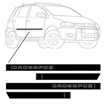 Kit Jgo Friso Lateral Cross Fox Volkswagen 2003/ - 4p