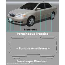 Kit Protetor De Parachoque Toyota Corolla 2003