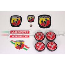 Kit Nº1 Adesivos Abarth P/ Fiat Bravo
