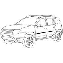 Jogo De Friso Lateral Personalizado Renault Duster Todas