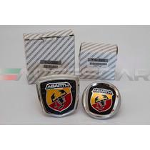 Kit Emblemas Abarth P/ Fiat 500 ( Frete Grátis )