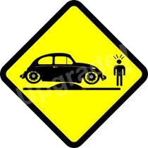 Adesivo Carro Rebaixado Enroscado Lombada Fusca Socado Fixa