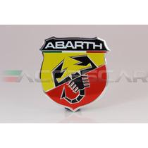 Emblema Abarth Em Alumínio