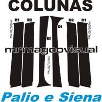 Colunas Palio Siena E Weekend 4portas + Frete Grátis