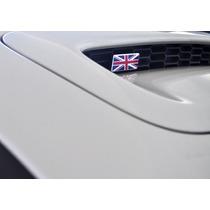 Emblema Mini Cooper Bandeira Entrada De Ar Capô