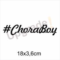 Adesivo Carro Rebaixado Chora Boy Socado Tunning Fixa Ar Jdm