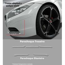 Kit Protetor De Parachoque Resinado Universal Transparente