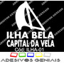 Adesivo Decorativo Praia Ilha Bela Capital Da Vela - Ilha-01