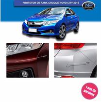 Friso Protetor Parachoque Transparente Novo Honda City 2015