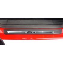Soleira Premium New Fiesta 2013 2014 2015 8 Pçs - 1 Ano Gar