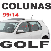 Adesivo Coluna Vw Golf Mk4 Mk4,5 Frete Gratis