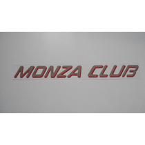Adesivo Monza Club P/ Monza 1990/1996 - Mmf