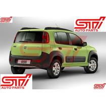 Para Barro Traseiro Fiat Novo Uno - Original