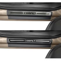 Soleira Premium Gm Cobalt Kit 8 Peças - 1 Ano Garantia