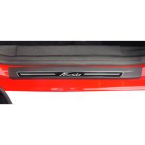 Soleira Premium Ford New Fiesta - 2011 A 2015 - Kit 8 Peças