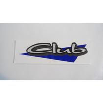 Adesivo Club P/ Vw Parati Club 1997/1998/1999
