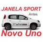 Kit Janela Sporting Novo Uno Vivace Way + Frete Gratis