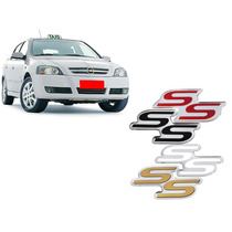 Emblema Astra Ss Corsa Ss 1999 A 2011 Resinado Da Grade