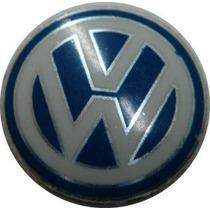 Emblema Logo Chave Canivete Vw Original Aluminio Adesivo 3m