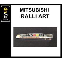 Emblema Ralliart Off Road 4x4 Tr4 Triton Mitsubishi Lancer
