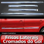 Jogo De Frisos Laterais Cromados Gol G5/ Fox/ Voyage.