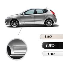 Friso Hyundai I30 Jogo Lateral Cor Original Novo !