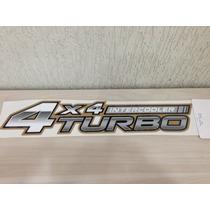 Emblema Adesivo 4x4 Turbo Intercooler Hilux Toyota