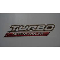 Emblema Adesivo Turbo Intercooler P/toyota Hilux 09/...- Nbz