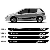 Kit Adesivos Faixa Lateral Peugeot 307 E Sw